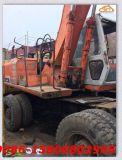 使用された日立Ex160wd/Ex100wd油圧車輪の掘削機