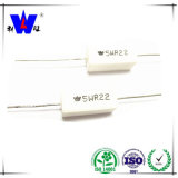 Résistances emballées en céramique de pouvoir de la colle de blessure de fil de Rx27-1-15W