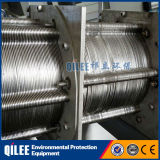 Máquina de desecación de aguas residuales del tratamiento del lodo industrial del acero inoxidable 304