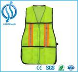 Hohe reflektierende grüne Sicherheits-Weste en ISO-20471