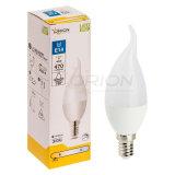CE de aprobación de la RoHS 5W E14 Lámpara LED Velas