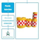 Kundenspezifisches reflektierendes Zeichen-Verkehrs-Teildienst-Antikollisionswannen-Plastikspritzen