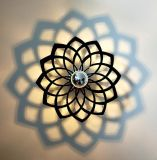 Luz de acrílico creativa de la pared, lámpara del LED