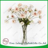 China barata Seda artificial Centro de Flor de aciano Faux Crisantemo Flor de la decoración del hogar