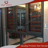 Perfil de aluminio antirrobo de gama alta de Casement/Inclinación gire a la ventana con el obturador