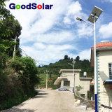 Garantie 3 ans de DEL de prix solaires de réverbère de batterie Pôle léger de gel