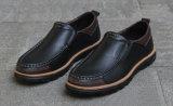 Chaussures neuves de mode du modèle le plus neuf de cuir de vache à élégance