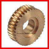 Engranajes helicoidales, la transmisión de engranajes de eje de rueda, Worm