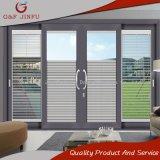 Doppio portello scorrevole di vetro di alluminio resistente per residenziale di qualità superiore
