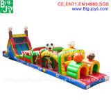 Parcours de combattant gonflable commercial, Inflatables interactif, jeux gonflables de sports (DJOB002)