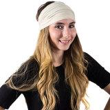 여자의 소녀 탄력 있는 귀여운 머리 악대