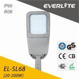 Everlite 20W all'indicatore luminoso di via di 200W LED con l'alloggiamento della lega di alluminio ADC12