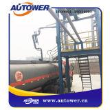 Braço de carregamento de transferência balançado depósito de gasolina do asfalto