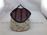 Chapeau africain rose de Strapback de panneau de la configuration 5 pour Madame de fille
