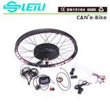 Nécessaire électrique de vélo de moteur de pivot de Leili 48V 1500W avec l'étalage coloré de TFT