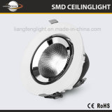 УДАР Downlight хобота Adujustable Embeded 15With24With40With50W СИД