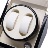 Automático de doble watch winder para relojes de tamaño mediano