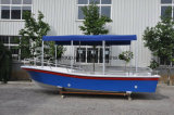 Liya 19pieds bateau touristique de la mer de la rivière Bateau de pêche sportive personnalisé