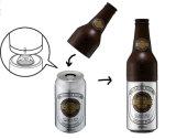 Barboteur en plastique de bière de qualité d'OEM avec la bouteille à bière formée