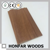 建築材料のための純木のSapeleの幅木