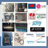 Ahorro de energía del servo de la máquina de moldeo por inyección de plástico de la cesta