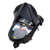 Il nylon nero 420d scherza lo zaino del banco a ruote carrello dei bagagli