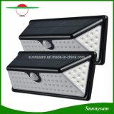 Lámpara impermeable de la seguridad de la pared de la luz 2835 SMD PIR de la energía solar 73 LED de movimiento del sensor LED de la luz al aire libre solar del jardín