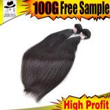自然なバージンの毛のマレーシアの毛のWeft工場価格