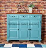 파란 유럽식 나무로 되는 단화 방주 미국 국가 현관 방주 목제 현관 단화 방주 (M-X3323)