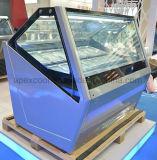 유럽식 팬 냉각 장치 형식을%s 가진 고품질 얼음 Ceam 전시 냉장고