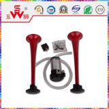 Claxon del altavoz del alambre del doble del ABS del color rojo