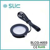 3W Rrond LED Schrank-Bildschirmanzeige beleuchten unten für Schaukasten