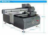 Impresora de la escritura de la etiqueta del metal de 2 boquillas para las latas del metal, haciendo publicidad de la impresora