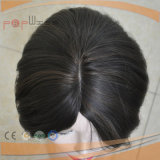 Schöne schwarze Menschenhaar-Perücke (PPG-l-05142)