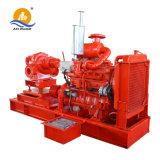 O motor diesel da bomba de água de irrigação de longa distância