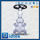 De Klep van de Poort van Lcb van het Roestvrij staal van de Flens van het Handwiel van Didtek voor Raffinaderij