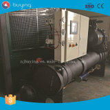 100 refrigerador de água refrigerando industrial do compressor do parafuso do cavalo-força de HP/120 HP/150