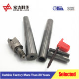 De stevige anti-Schok Gecementeerde CNC van het Carbide Steel van het Malen/droeg As/Boorstaaf Exten