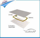 光沢のあるCr80 1K Mmemory ISO RFIDのカード