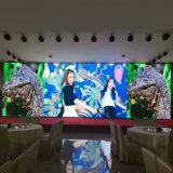 HD che fa pubblicità allo schermo di visualizzazione esterno pieno della scheda dell'affitto LED di colore P10