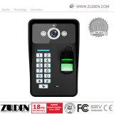 7インチの指紋の建物の相互通信方式のためのビデオドアの電話