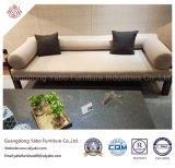 Chinesische Hotel-Möbel mit hölzernen Sofas des Gewebe-drei (YB-O-12)
