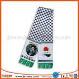 Polyester 100% gedruckter Fußball-Schal für Förderung