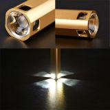 Usb-nachladbare LED Taschenlampe der beweglichen Aufladeeinheits-Energien-Bank-