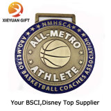 BSCI прямого клиента на заводе медаль 3D-Sport медаль