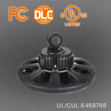 150W 130-140lm/W LED UFO Highbay 빛, 열거된 Dlc 4.0