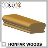 Balustrade normale de pièce d'escalier en bois solide pour la décoration de construction
