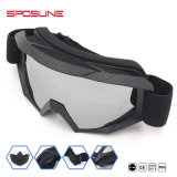 De Zonnebril van Motrocross zonder Berijdende Glazen van de Motorfiets van het Masker de Goedkope met Schuim