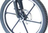 """セリウム20の""""隠されたリチウム電池が付いているアルミニウムフレームの電気折るバイク"""