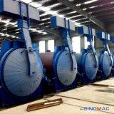 Calefacción de vapor de la completa automatización AAC ladrillos Autoclave con diámetro 2850 mm